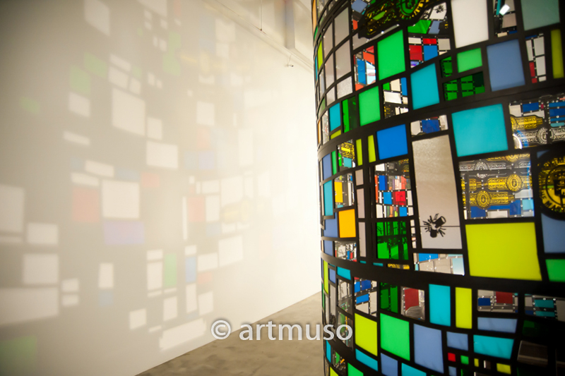 Tom Fruin's Color Study