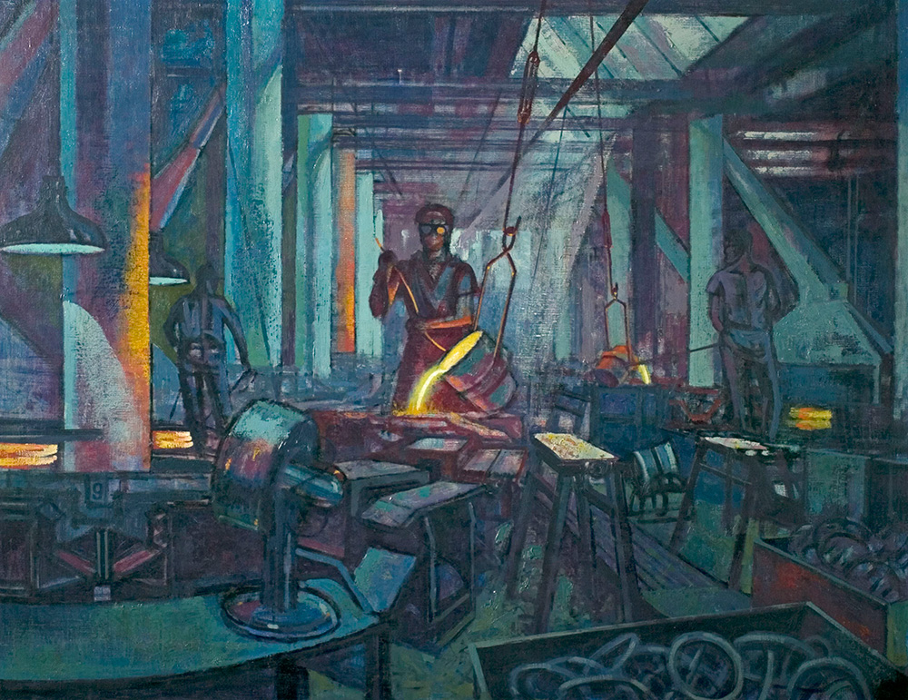 Foundry Scene Derby Museums