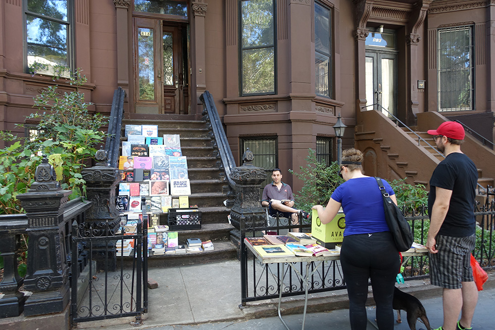 Brooklyn Stoop Sale